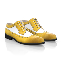 Men's Derby Shoes Yellow