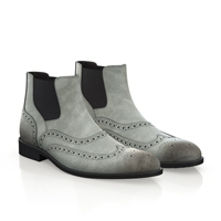 MEN`S BROGUE ANKLE BOOTS 1876