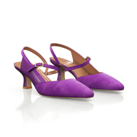 MID HEEL POINTED TOE SHOES 19642