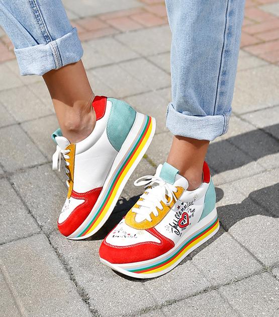 Rainbow Color Sole 9045