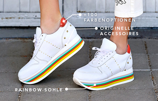 RAINBOW COLOR SOLE
