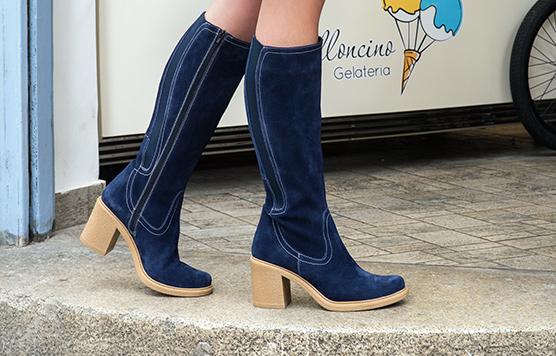 Pattern boots