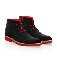 LIGHTWEIGHT MEN`S ANKLE BOOTS 6911